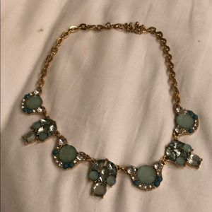 Jewelry - Blue and Gold Necklace